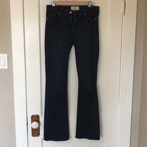 RACHEL Rachel Roy Bootcut Jeans, Dark wash Size 29